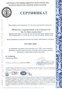 1.1. Сертификат ISO-MINI